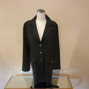 Classic Black Cabi Ponte Knit Blazer